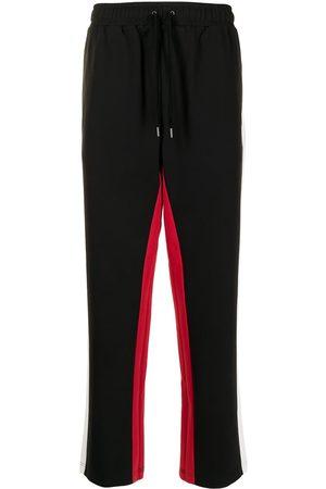 Ports V Rovné nohavice - Side-stripe straight trousers