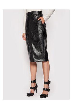 MARELLA Ženy Kožené sukně - Sukně z imitace kůže
