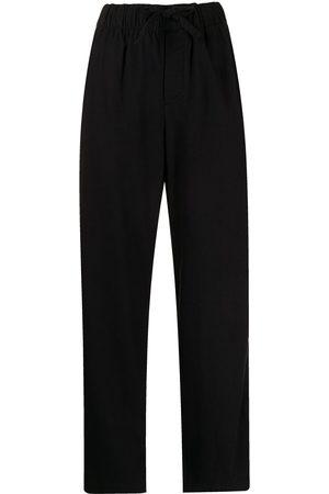 Tekla Ženy Pyžama - Drawstring-waist pajama trousers