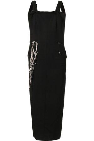 Y's Wool Gabardine Overall dress