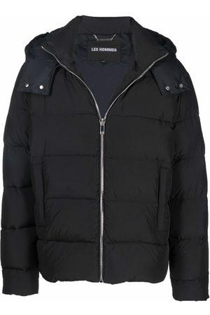 Les Hommes Zipped padded jacket