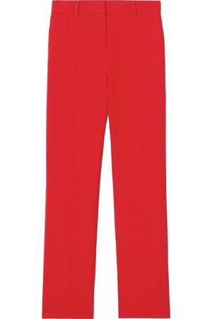 Burberry Ženy Společenské - Tailored high-waisted trousers