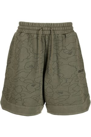 A Bathing Ape Line 1st Camo Sweat shorts