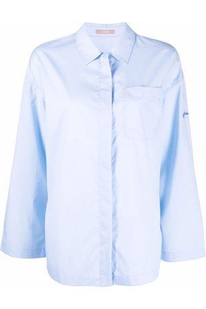 12 STOREEZ Wide long-sleeve shirt
