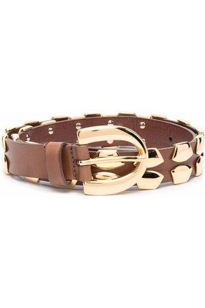 Alberta Ferretti Stud-embellished belt
