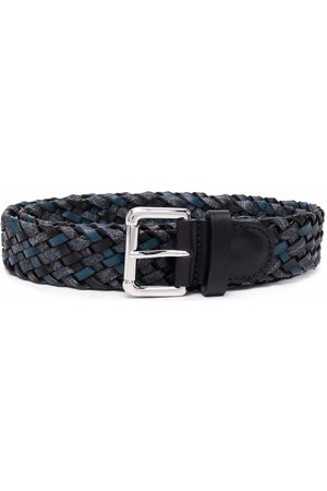 Etro Woven leather belt