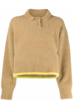 Jacquemus Le Polo Neve textured jumper