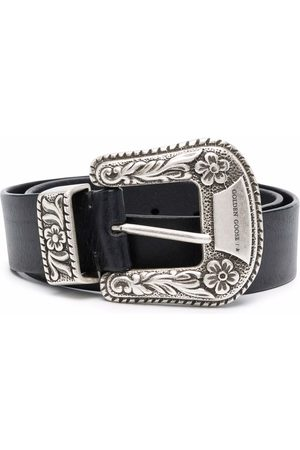 Golden Goose Western-inspired buckled belt