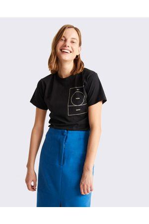Thinking Mu Ryan Carl Moon T-Shirt BLACK L