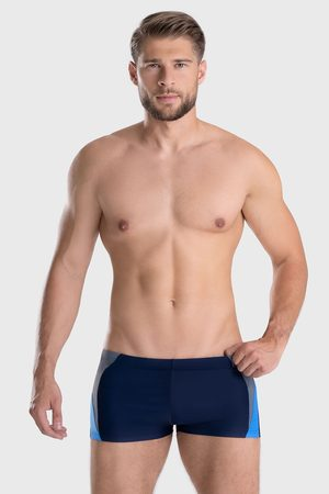 gWINNER Modré koupací boxerky Peter