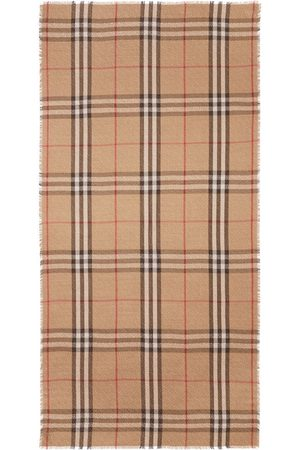 Burberry Monogram pattern check scarf