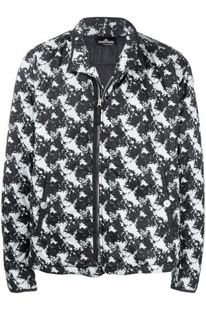 Stone Island Shadow Project Graphic print bomber jacket