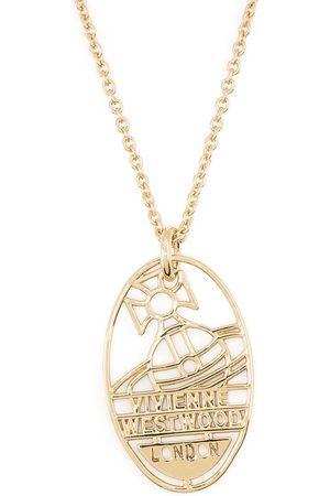 Vivienne Westwood Logo-plaque chain necklace