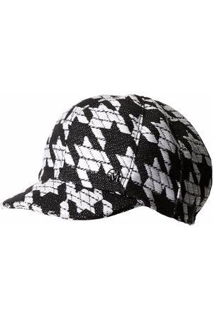 Le Mont St Michel Kris houndstooth-pattern cap