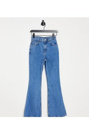 Reclaimed Vintage Inspired 99' flare jean in pretty blue
