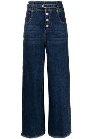 PORTSPURE High-waist wide-leg jeans