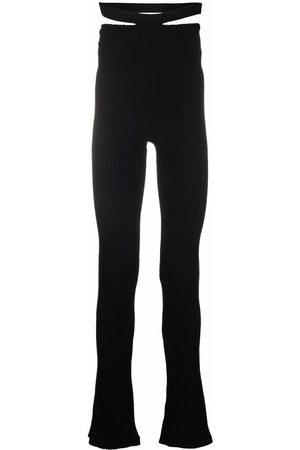 Adamo High-waisted flared pants