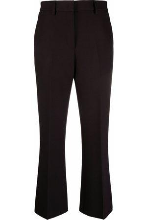 Msgm Ženy Společenské - High-waisted tailored trousers