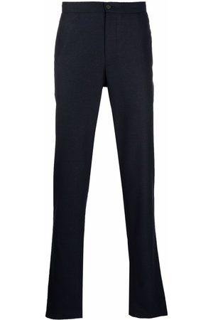 Boglioli Muži Strečové - Stretch waist wool trousers