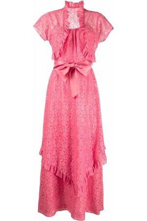 A.N.G.E.L.O. Vintage Cult Ženy Bolera - 1950s broderie anglaise ruffled dress and bolero