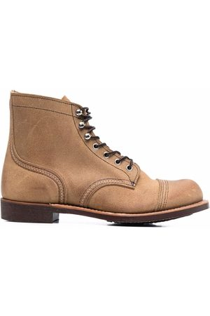 Red Wing Iron Ranger leather ankle boots