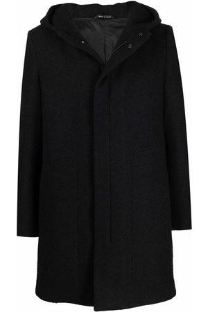 TAGLIATORE Hooded raincoat