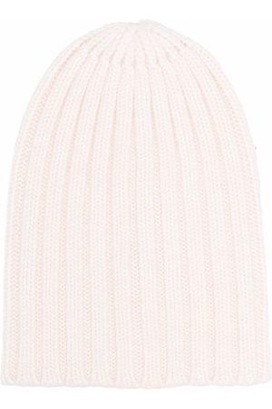 LANEUS Muži Čepice - Ribbed-knit cashmere beanie
