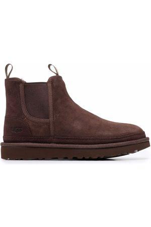 UGG Muži Kotníkové - Shearling ankle boots