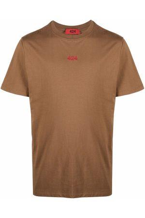424 Muži S krátkým rukávem - Logo crew-neck T-shirt