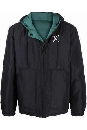 Kenzo Logo-print padded jacket