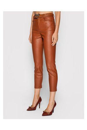 pinko Kalhoty z imitace kůže