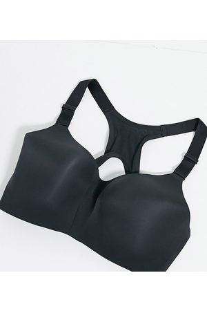 Nike Plus Rival high support bra in black