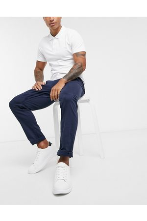 Selected Straight fit chino in navy