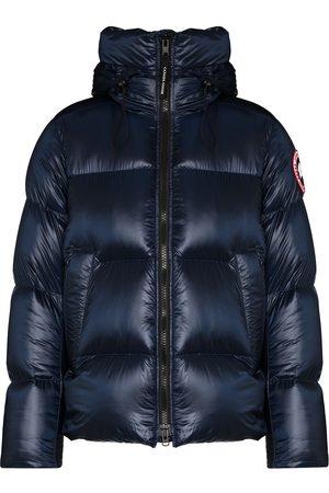 Canada Goose Crofton logo-patch padded jacket