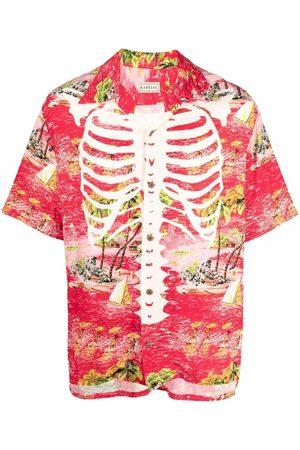 Kapital Graphic print short-sleeve shirt