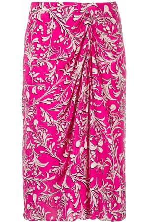 Isabel Marant Collette abstract pattern-print skirt