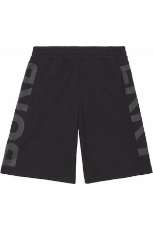 Burberry Logo-print track shorts