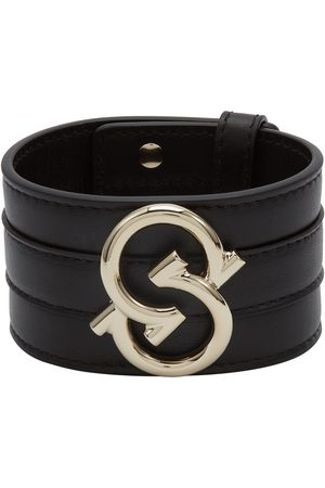 Salvatore Ferragamo Gancio S leather bracelet