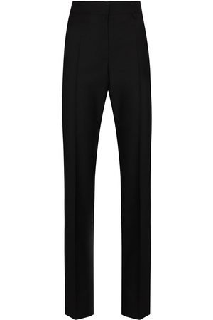 Givenchy High waisted pleated front trousers