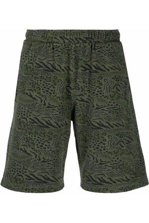 Kenzo Muži Bermudy - Animal print shorts