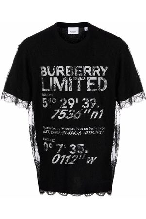 Burberry Coordinates lace layered T-shirt