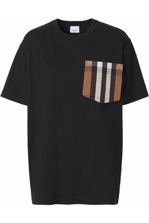 Burberry Check-pocket T-shirt