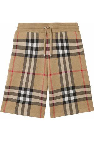 Burberry Muži Kraťasy - Check-print shorts
