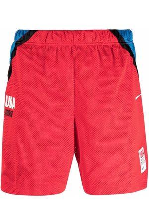 Nike X Undercover UBA colourblock sports shorts