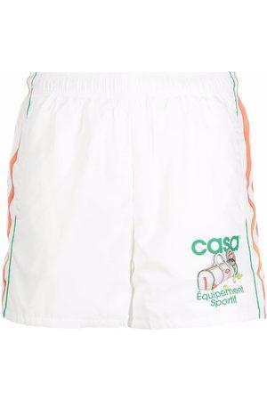 Casablanca Logo-print track shorts