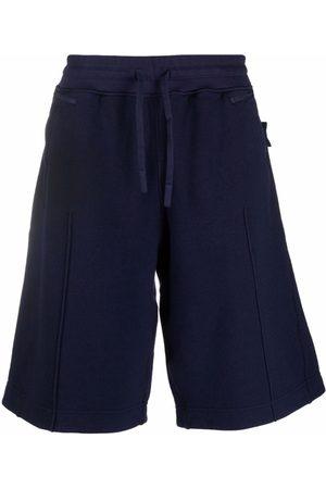 Stone Island Shadow Project Drawstring-waist track shorts