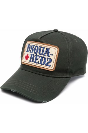 Dsquared2 Logo-patch embroidered cap