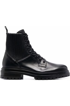 Gianvito Rossi Lace-up leather boots