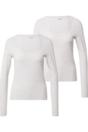 Cotton On Tričko 'EVERYDAY SCOOPED LONG SLEEVE TOP - 2 PACK