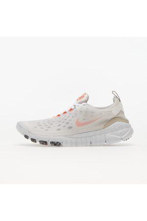 Nike Free Run Trail Crater White/ Orange-Cream Ii-Cave Stone